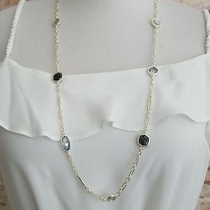 New Kendra Scott Natalia Long Strand Necklace